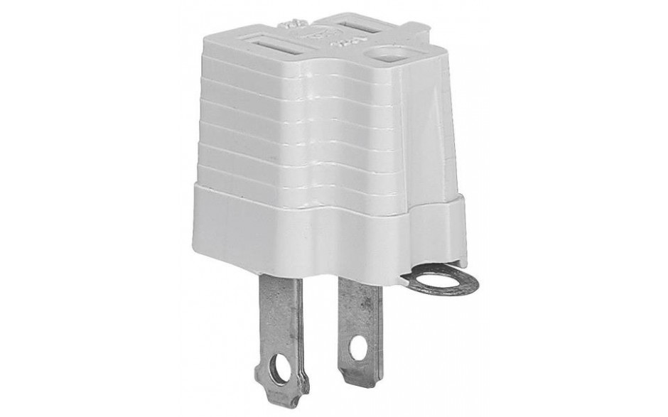 Cooper 419gy Grounding Polarized Outlet Adapter  125 V  1
